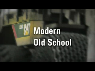 CAT 993K Wheel Loader Modern Old School