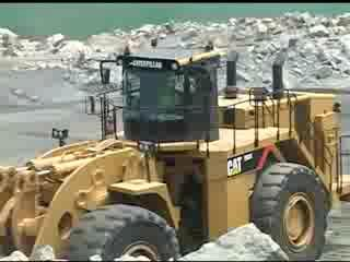 DANACH >: CAT 993K Wheel Loader - Pre Shift Walkaround