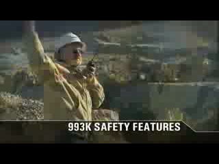 CAT 993K Wheel Loader Safety Walkaround