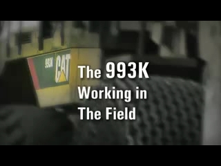 CAT 993K Wheel Loader - Working in the Field A&G - Customer Testimonial
