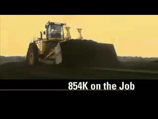 CAT 854K Wheel Dozer On the Job Testimonial