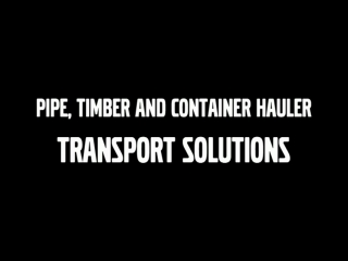 AFTER >: Volvo Articulated Haulers (dump trucks) Transport Solutions  Pipe, Timber and Container Hauler