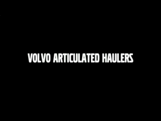 AFTER >: Volvo Articulated Haulers A35EFS and A40EFS Features