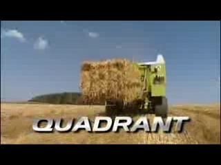 CLAAS QUADRANT 2100 & 2200 VIDEO