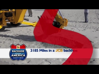 Backhoe Across America in Three Minutes