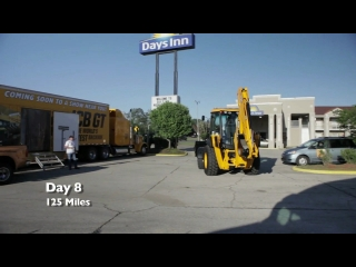 JCB Backhoe Across America Day 8