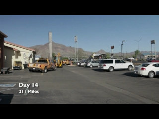 JCB Backhoe Across America Day 14