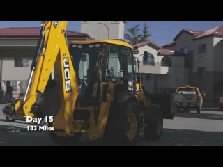 JCB Backhoe Across America Day 15