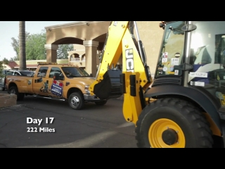 JCB Backhoe Across America Day 17