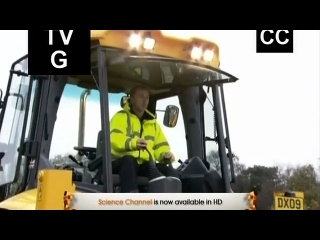 JCB Excavator and Backhoeloader on 'How Do They Do It'