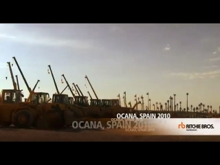 Ritchie Bros Auctioneers Ocana Spain Auction Site Grand Opening