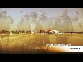 Ritchie Bros Auctioneers Tipton California Grand Opening auction