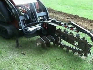 Ditch Witch XT850 Excavator Tool Carrier Changing Attachment