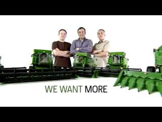 Want MORE Good reasons to choose a John Deere combine