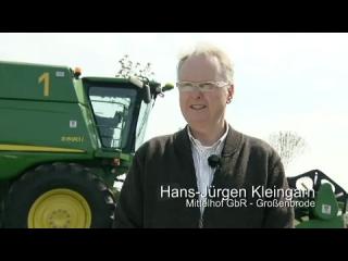 AFTER >: Kundenmeinung zu John Deere Mähdrescher der S-Serie - Herr Kleingarn