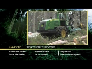 AFTER >: John Deere 1270E Wheeled Harvester