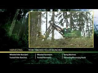 John Deere 959K Tracked Feller Buncher