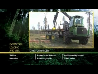 John Deere 1010E Forwarder
