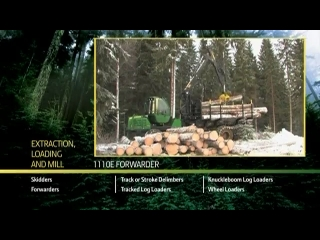 AFTER >: John Deere 1110E Forwarder