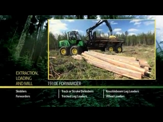 AFTER >: John Deere 1910E Forwarder