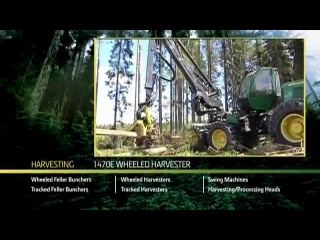 AFTER >: John Deere 1470E Wheeled Harvester