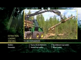 AFTER >: John Deere 1510E Forwarder