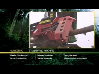 John Deere 2154D Forestry Swing Machine