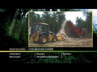 AFTER >: John Deere 310SJ Backhoe Loader