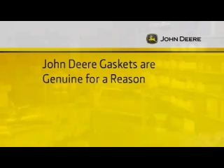 Gaskets Genuine John Deere Parts