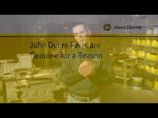 AFTER >: An Introduction to Genuine John Deere Parts