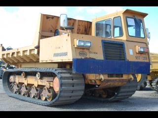 AFTER >: Morooka MST2200 Tracked Dumper