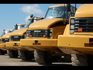 Caterpillar Dump Trucks used